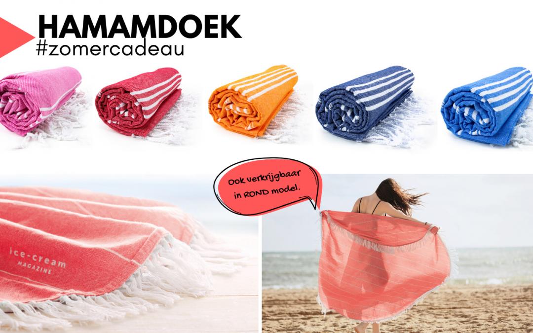 Hamamdoek, een fijn zomercadeau!