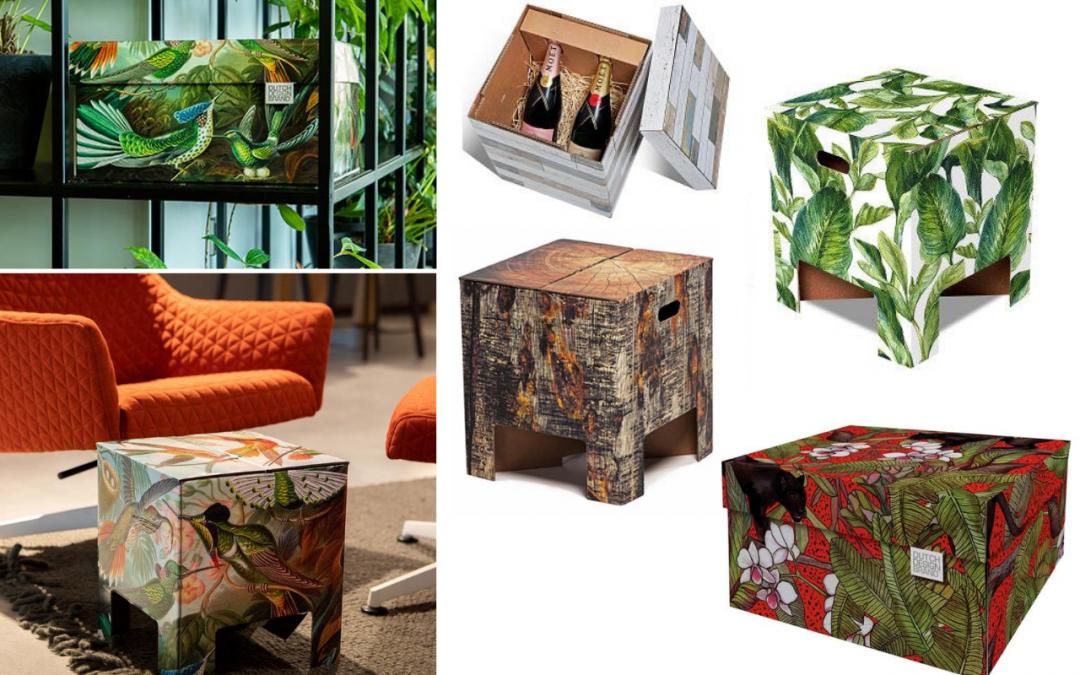Een stijlvolle kerst met de dozen van Dutch Design Brand
